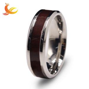 De zilveren Retro Juwelen van het Roestvrij staal van het Wolfram van de Ring van de Juwelen van de Manier