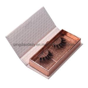도매 플라스틱 속눈섭 상자 반짝임 속눈섭 잔혹성은 100% 실제적인 개별적인 밍크 속눈섭을 해방한다