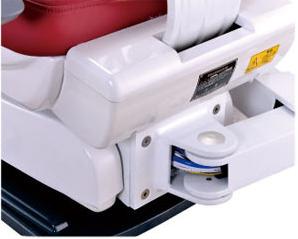 Electrictの新しいデザインの大きく快適な歯科椅子の単位