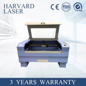 Macchina di legno del metallo del metalloide del laser di CNC di alta precisione