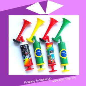Os fãs de desporto personalizados de plástico da buzina para promoção (KM-001)