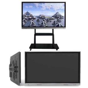 Schwarzer Bildschirm des Ausbildungs-Screen-Kiosk-LED