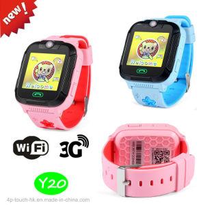 3G/WiFi Sos Kids Tracker GPS Reloj con ubicación en tiempo real Y20