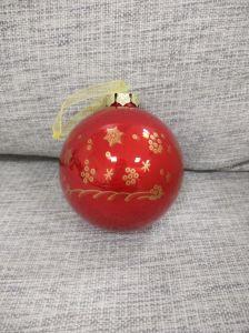 크리스마스를 위한 장신구 유리제 공