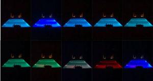 Piscina PAR56 de 12V la bombilla de luz subacuática RGB IP68