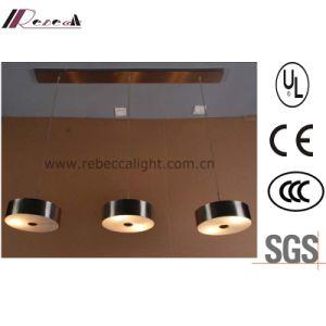 ホテルのプロジェクトのためのヨーロッパの中断3ヘッド鉄のペンダント灯