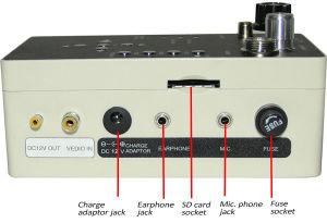 De ondergrondse Camera van de Pijp van de Endoscoop met MiniToetsenbord Wps710dk