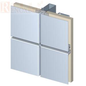 Surface lisse PVDF revêtement Panneau en aluminium pour mur-rideau
