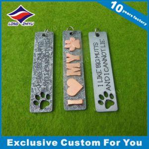 Modifica di cane del metallo del ricordo 3D delle lettere