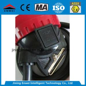 採鉱の携帯用コードレスLED鉱山の帽子ランプ