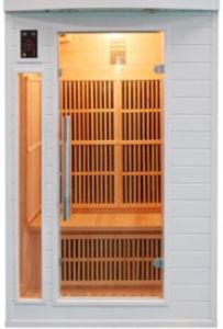 Nuova Hemlock Far Infrared Sauna stanza di 2015 con Ceramic Heater