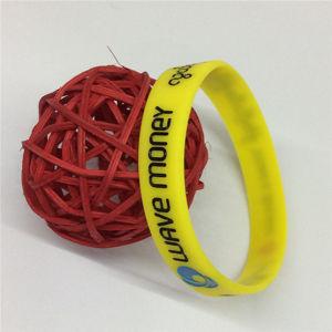 Debossed ha stampato il Wristband promozionale Charming del silicone del regalo