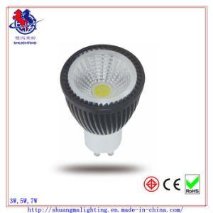 Heißes-Selling CER RoHS 5W GU10 COB LED Spot Lamp