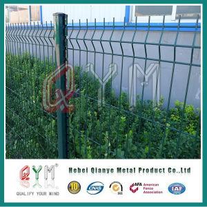 ロール曲線の溶接された金網の塀の鉄条網のパネル
