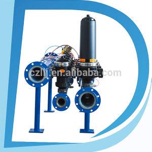 filtro a disco di auto pulizia del sistema del RO del depuratore di acqua del micron dell'alloggiamento 2  3  4  PA6
