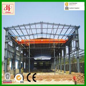 Préfabriqué légère en acier de grande portée de la structure de l'entrepôt de l'atelier