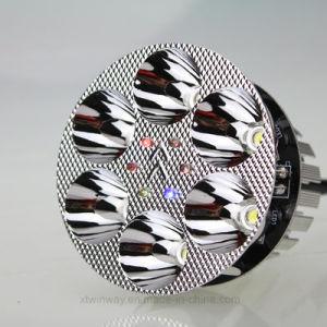オートバイはヘッド軽い前部ライトLEDランプの灯心を分ける