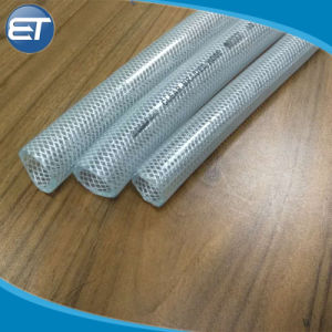 拡大の適用範囲が広い透過PVCファイバーは補強された水潅漑のガーデン・ホースを編んだ