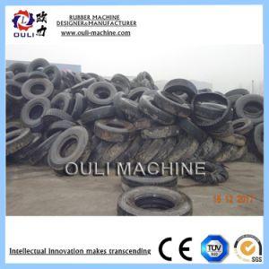 Resíduos de alta qualidade, máquina de reciclagem de pneus usados para Reciclagem de Pneus de Borracha regenerada a linha de produção