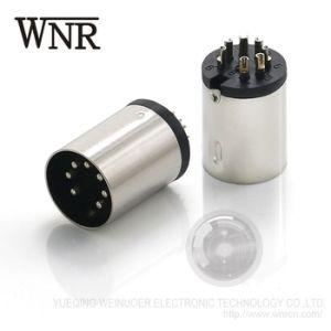 Мужчины Женщины Wnre Micro штекерный разъем mini DIN