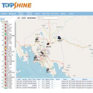 Control de combustible doble carretilla 2g GPS Tracker con alarma de fuga de combustible