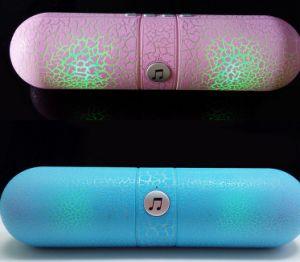 Капсула таблетки Wireless Bluetooth громкоговоритель карту памяти Mini АС с вызовом