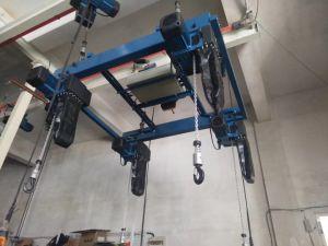 전기 트롤리를 가진 500kg 유럽 유형 배속 전기 체인 호이스트