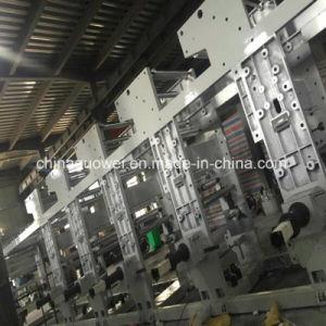 Calculador de Motor 3 Control 8 de rotograbado de plástico de color de la máquina de 160 mpm