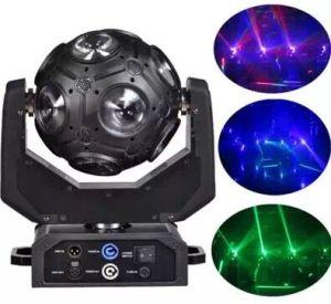Terrain de football 12W à LED effet déplacer la tête de lavage équipement de scène lumière