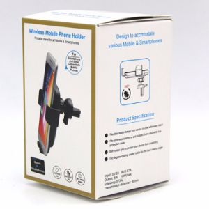 電話充電器の近くに置かれた場合開いた自動的にiPhone Samsung Huawei Xiaomiのための自動速い無線車の充電器