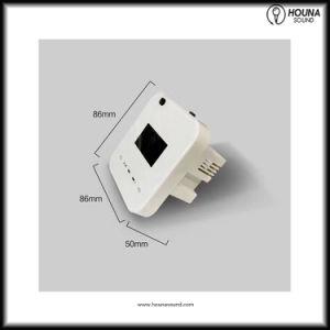 Sistema de domótica controlador amplificador de música de fondo con Bluetooth