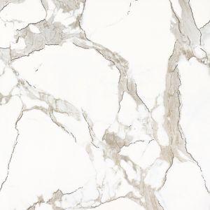 Marmer Verglaasde Tegel Porlceian met Gouden Lijnen voor de Decoratie van het Huis