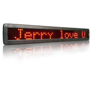 移動する印を広告するLEDメッセージ掲示板を店のスーパーマーケットのために広告する