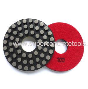 Disco di lucidatura del pavimento del PUNTINO dell'obbligazione del metallo da 3 pollici