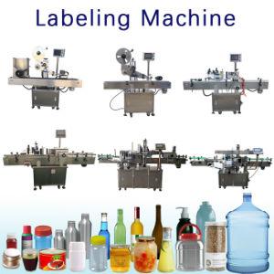 Una botella de agua automático de plástico redondo Flexo roll sticker cola húmeda Impresora de etiquetas Impresión Digital Semimanual funda retráctil Máquina de cortar la impresión de etiqueta Die