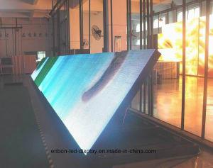 L'extérieur de l'entretien d'accès avant de la publicité de l'écran à affichage LED panneau LED P10