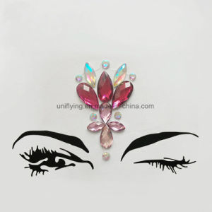 多彩な目の構成の祝祭によってカスタマイズされる宝石のステッカーのための卸売の水晶宝石のステッカー