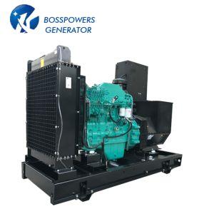 50Hz 128KW 160kVA insonorisées Water-Cooling silencieux alimenté par le moteur Cummins Groupe électrogène Diesel Groupe électrogène Diesel