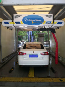 Touchless 자동차 씻기 접촉 바퀴 솔 M9를 가진 자유로운 세차 기계 Laser 무브러시 자동 방식
