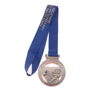 メダルボックスとのカスタム金属のトロフィの空手の名誉勲章