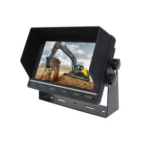 7 pulgadas de pantalla táctil de Monitor de visión trasera para el coche/Bus