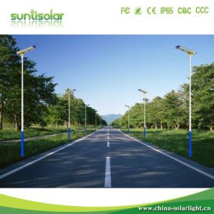 1つの統合されたPIR太陽満たされた40W IP65の通りの庭LEDライトの容易なインストールすべて