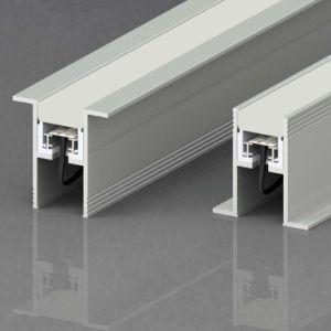 Nuevo diseño de alta calidad impermeable LED luz lineal para la instalación empotrada Ce RoHS enterrada iluminación comercial regulable Luz LED para iluminación de oficina