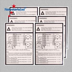 Autoadesivi laminati dell'etichetta adesiva della carta da stampa