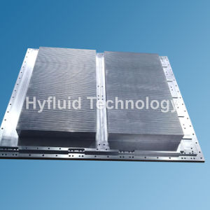 IGBTのクーラー、トレインの電源のための二重側面脱熱器