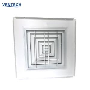 Hvac-quadratischer Decken-Diffuser- (Zerstäuber)aluminiumluftauslaß