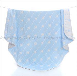 Il materiale amichevole una mussola di 6 strati Swaddle la coperta infantile di usura per il bambino
