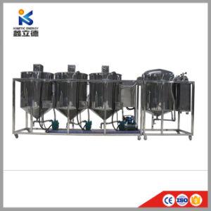 Mini Legumes profissional Equipamento de refinaria de óleo de farelo de arroz e máquinas de prensagem de óleo de sementes de mostarda máquina de refino de petróleo