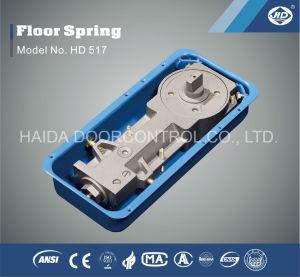HD 517のガラスのドアの床のばねのフロア・ヒンジの床のより近いガラスハードウェア