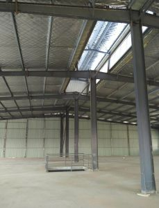 Diseño de medidor de luz de la construcción de la estructura de acero multicapa